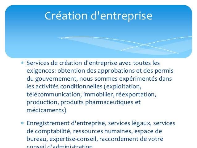 Création dentreprise Services de création dentreprise avec toutes les  exigences: obtention des approbations et des permi...