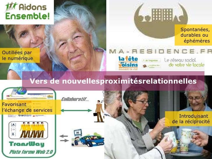 Amandine Brugiere Nouvelles proximites Slide 3