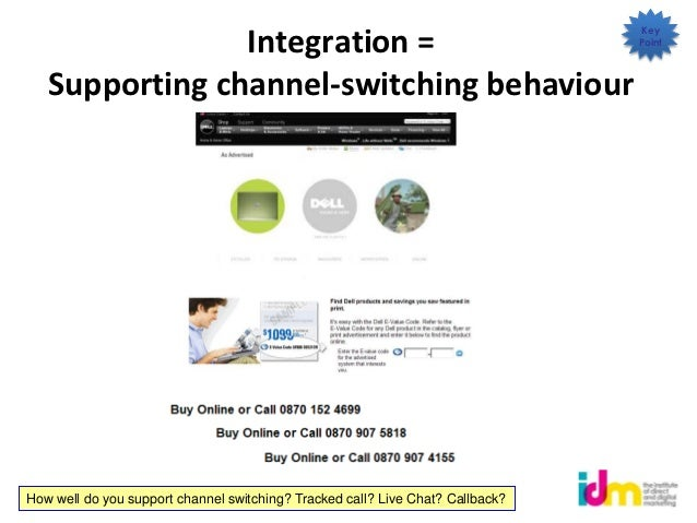 Key                Integration =                                                   Point   Supporting channel-switching be...