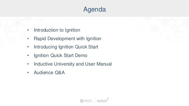 Leveraging Ignition Quick Start to Rapidly Build Real Projects Slide 3