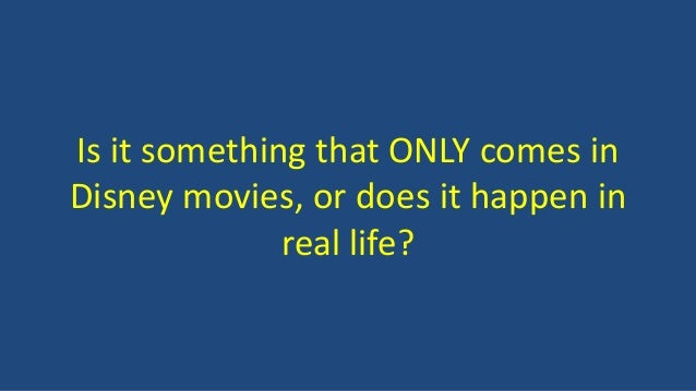 Does true love only exist in movies essay