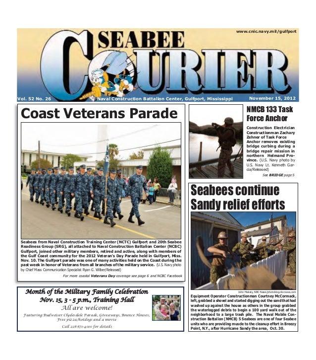 www.cnic.navy.mil/gulfportVol. 52 No. 26                              Naval Construction Battalion Center, Gulfport, Missi...