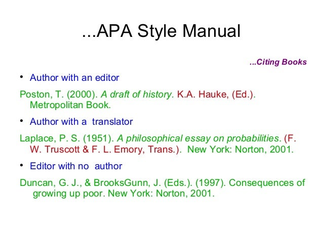citing essays apa How to cite an essay online in mla this is similar to a chapter in a book or anthology cite the author of the essay, the name of the essay, the name of the collection, the editor of the collection, the publication information, and the page number(s) of the essay.