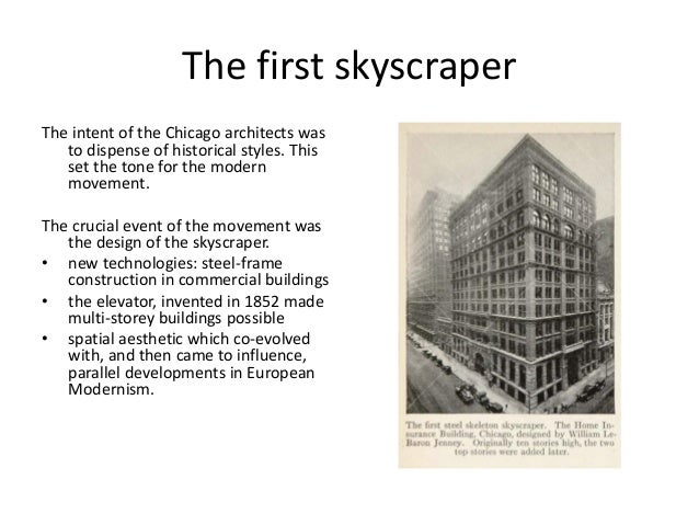 How modern technology has redefined the architectural design of the 20th century