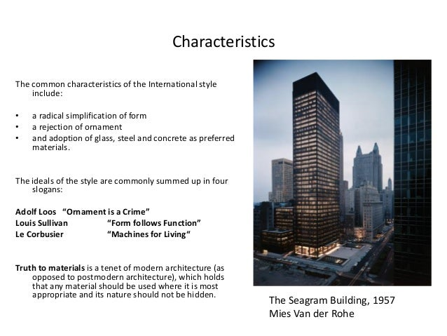 History of architecture 2 nov 2012 modern architecture Characteristics of modern office