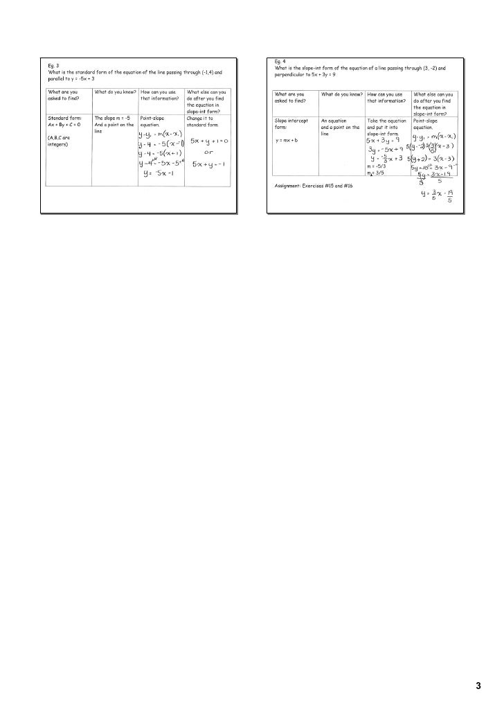 Geometry Standard Form Image Collections Free Form Design Examples
