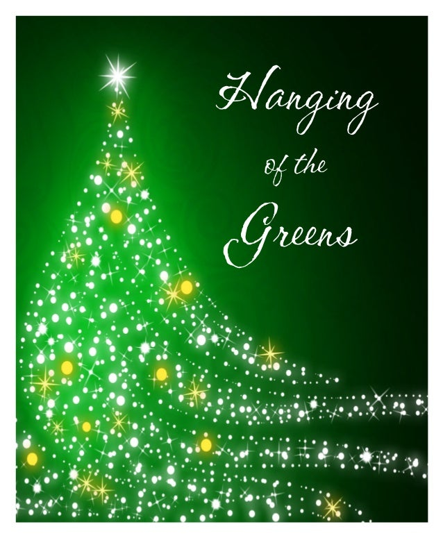 Knightdale Baptist Church Hanging Of The Greens November 29th 2015