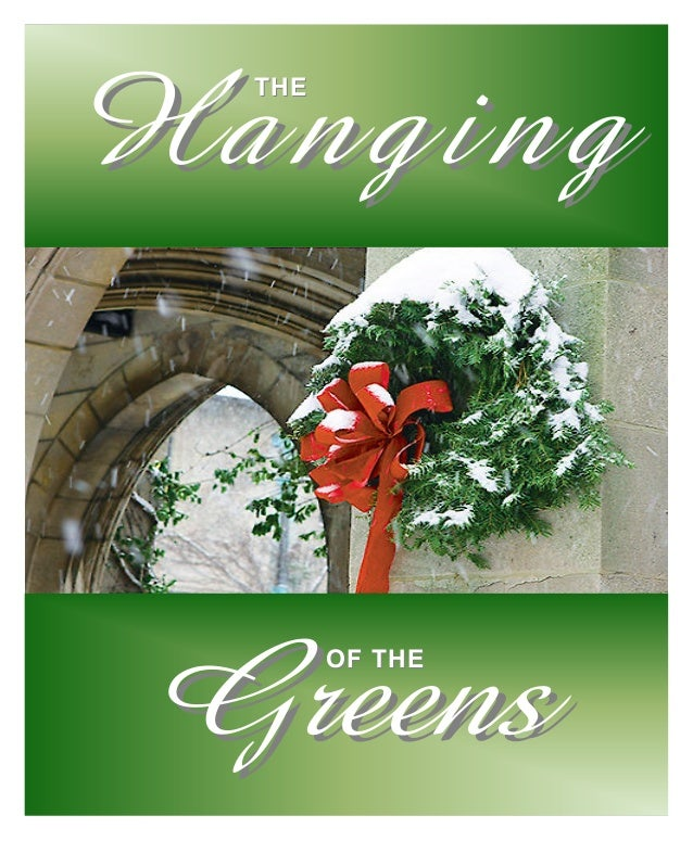 Hanging Of The Greens At Knightdale Baptist Church Nov 30th 2014 Bul