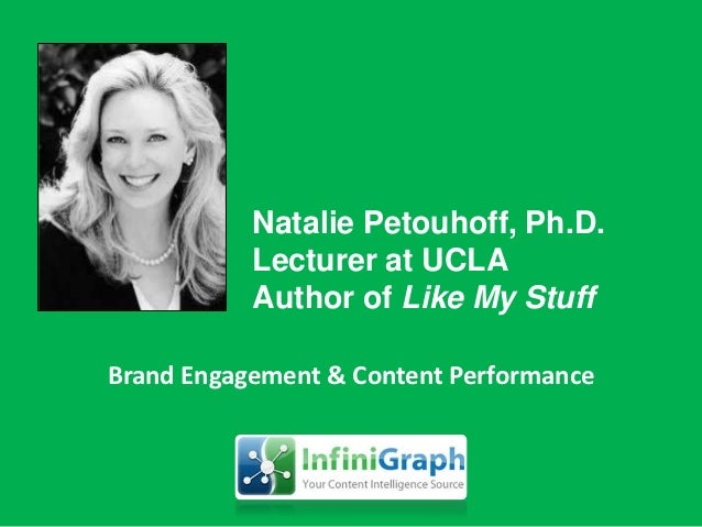 Those Social Digital Experiences                     are made up of             People Interacting With Content@drnatalie