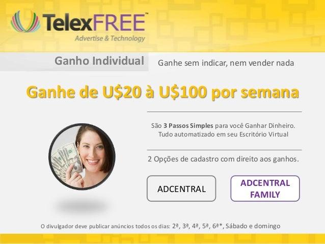 Ganho Individual                      Ganhe sem indicar, nem vender nadaGanhe de U$20 à U$100 por semana                  ...