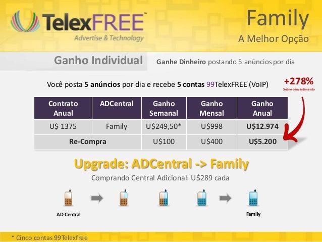 Family                                                                       A Melhor Opção              Ganho Individual ...