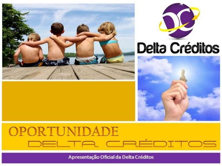 Delta Créditos A sua Recarga Inteligente