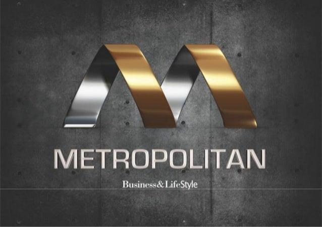 Nova apresentação metropolitan