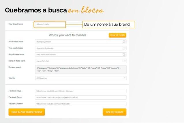 Novo cadastro de marcas e termos de busca Slide 3