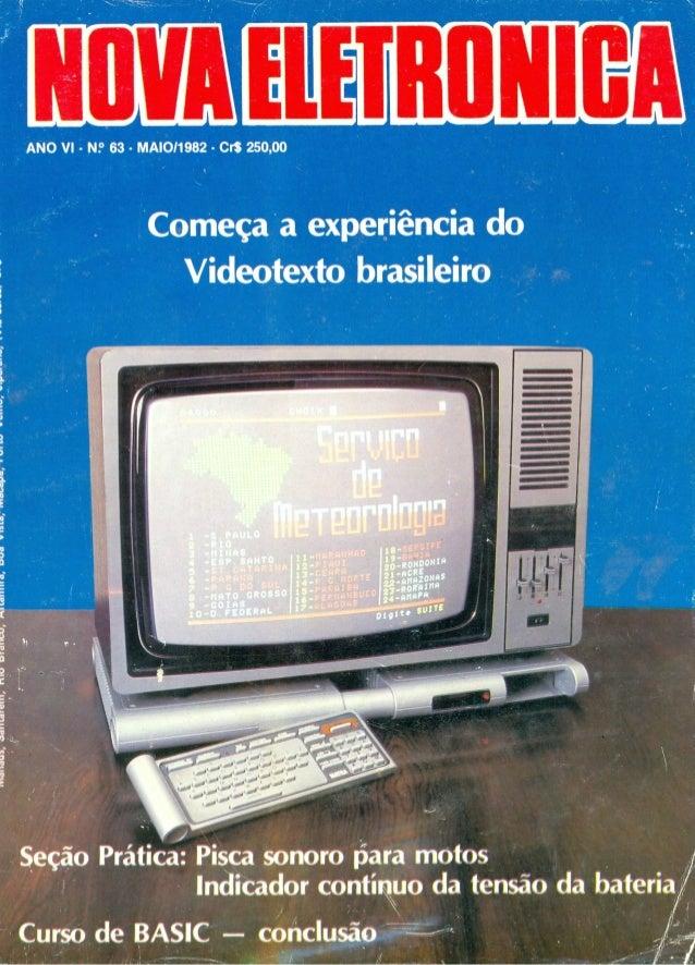 Nova eletrônica   63 mai1982