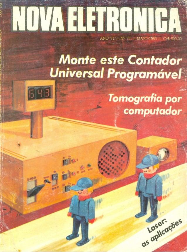 Nova eletrônica   75 mai1983