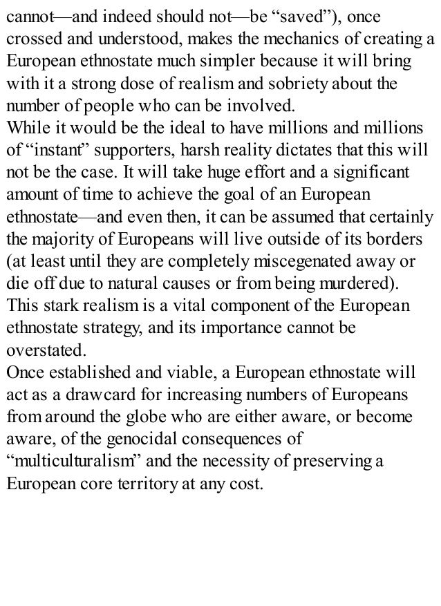 Nova Europa European Survival Strategy In A Darkening World Arthur