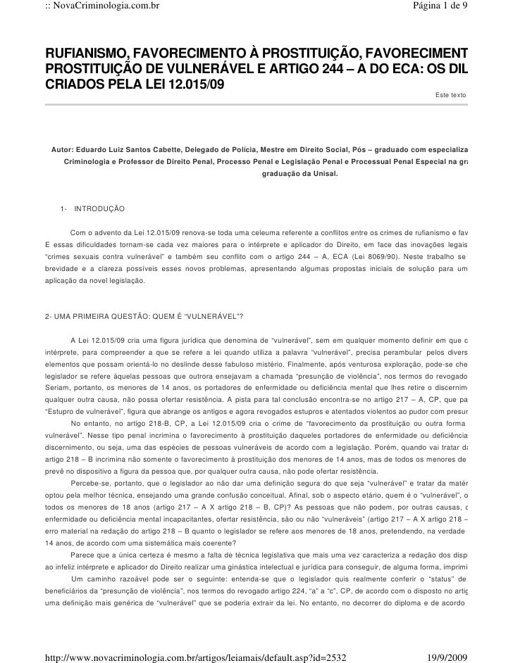 :: NovaCriminologia.com.br                                                                                      Página 1 d...