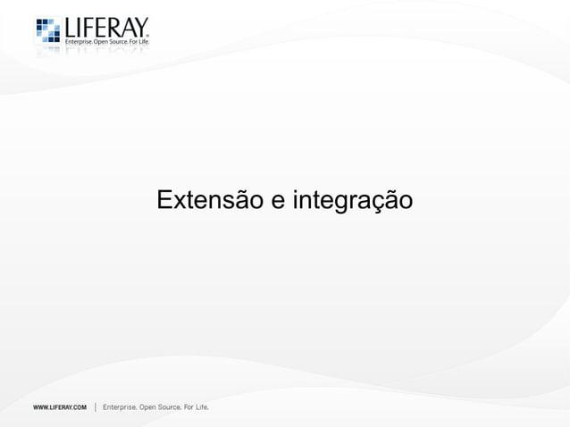 Extensão e integração