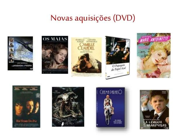 Novas aquisições(DVD)