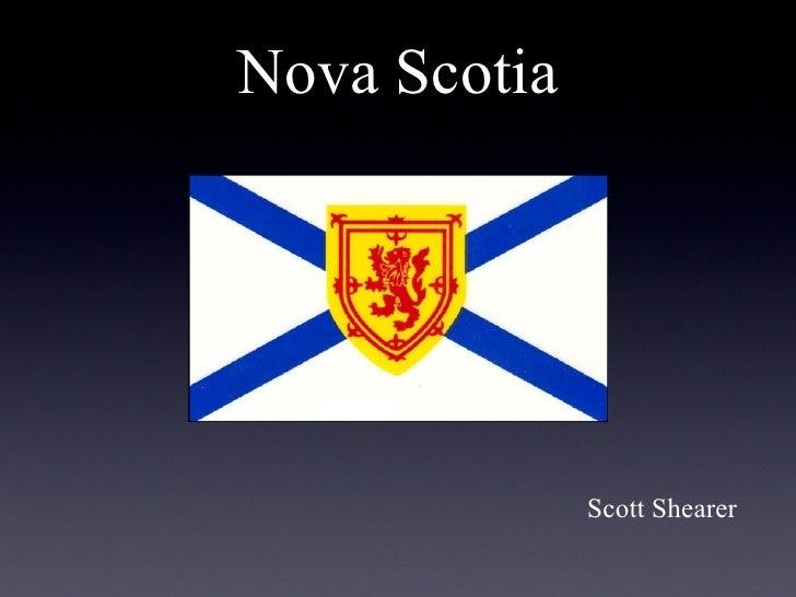 Nova Scotia              Scott Shearer