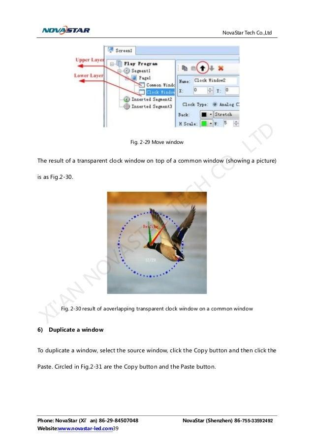 Nova Studio User Manual