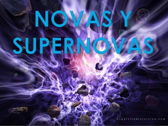 """Antes de investigar sobre el temapropuesto, """"Novas y supernovas"""", nosotros  pensábamos que eran una especie de  cometas de..."""