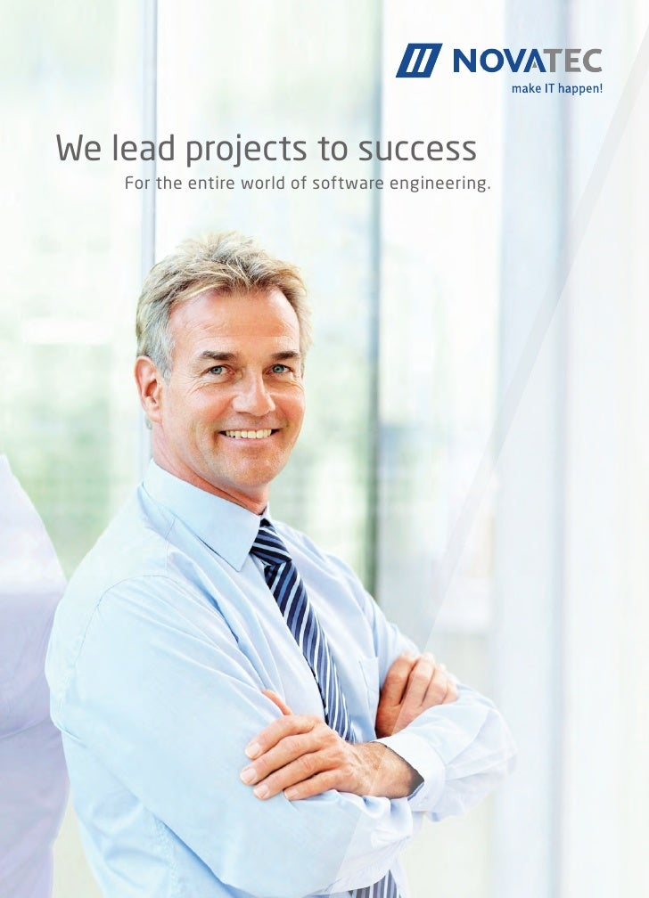 We lead projects to success	   For the entire world of software engineering.