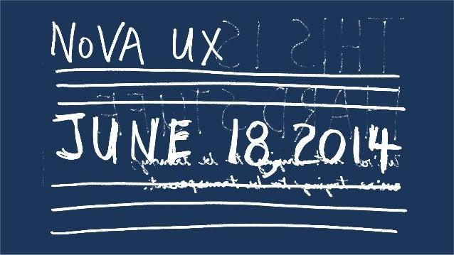 A Prototyping Case Study at NoVA UX