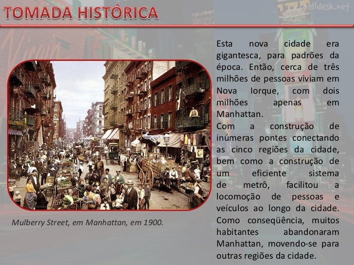 TOMADA HISTÓRICA<br />Esta nova cidade era gigantesca, para padrões da época. Então, cerca de três milhões de pessoas vivi...