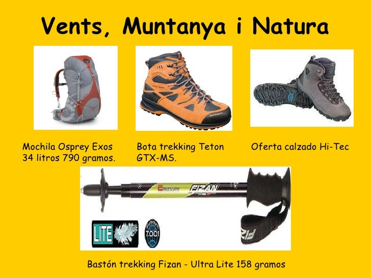 Tienda de material de montaña en Valencia Vents, Muntanya i Natura Slide 2
