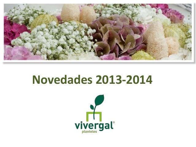 Novedades 2013-2014