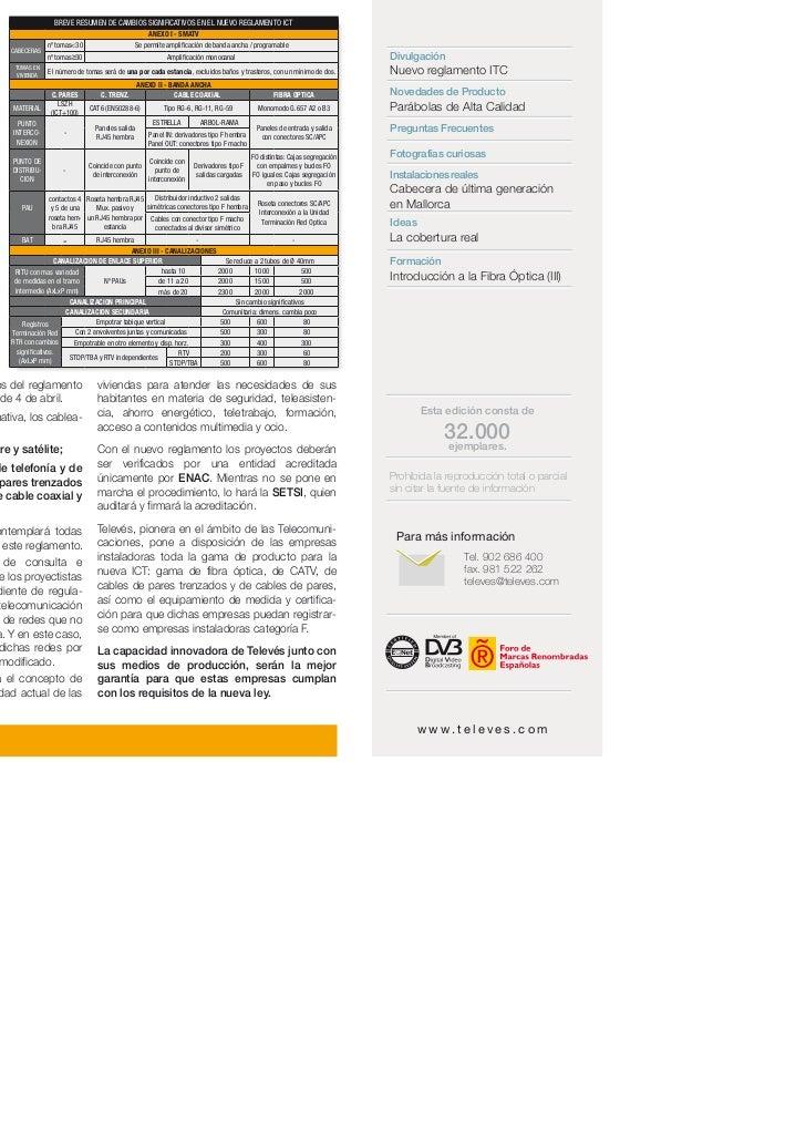 BREVE RESUMEN DE CAMBIOS SIGNIFICATIVOS EN EL NUEVO REGLAMENTO ICT                                               ANEXO I -...