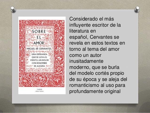 Considerado el más influyente escritor de la literatura en español, Cervantes se revela en estos textos en torno al tema d...