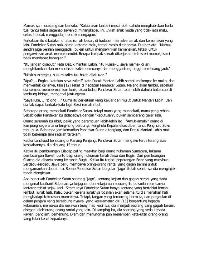 Novel Tenggelamnya Kapal Vander Wick