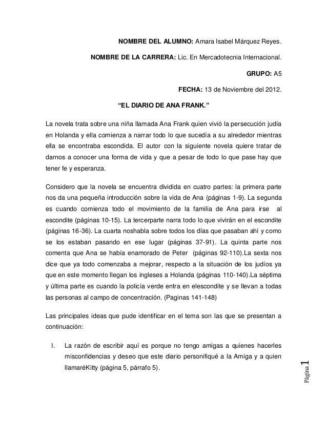NOMBRE DEL ALUMNO: Amara Isabel Márquez Reyes.                NOMBRE DE LA CARRERA: Lic. En Mercadotecnia Internacional.  ...