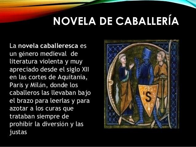 Wilber Novela De Caballeria Lenguaje