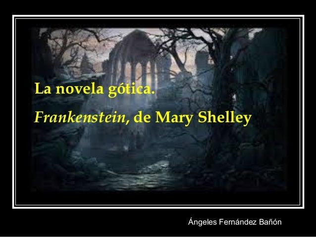 Novela Gótica Frankenstein