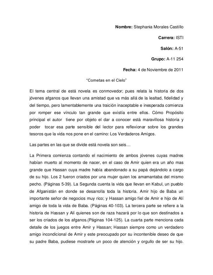 Nombre: Stephania Morales Castillo                                                                    Carrera: ISTI       ...