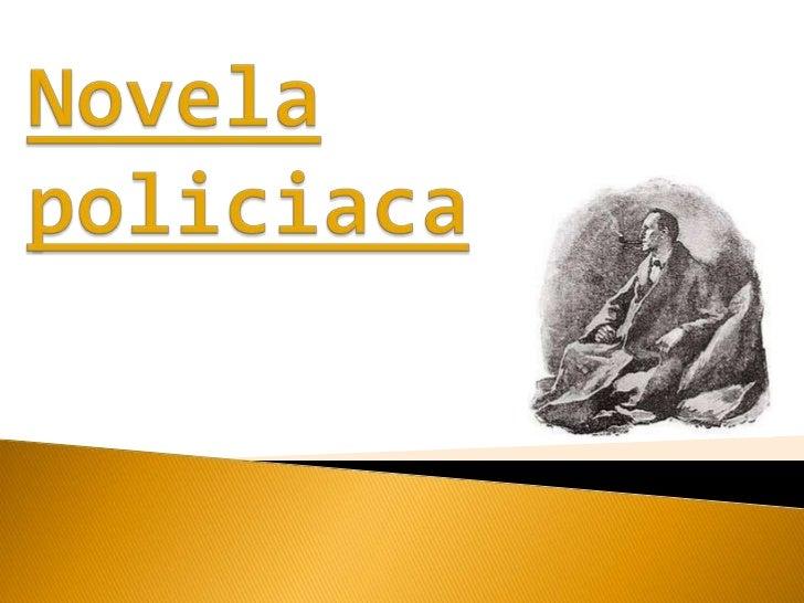 Novela policiaca<br />