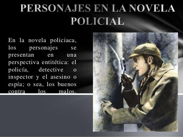 Novela policiaca Slide 2