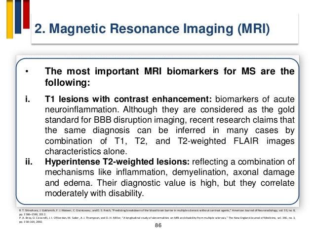 "90 2. Magnetic Resonance Imaging (MRI) W. Rashid, G. R. Davies, D. T. Chard et al., ""Increasing cord atrophy in early rela..."