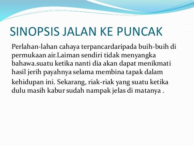 Novel Jalan Ke Puncak