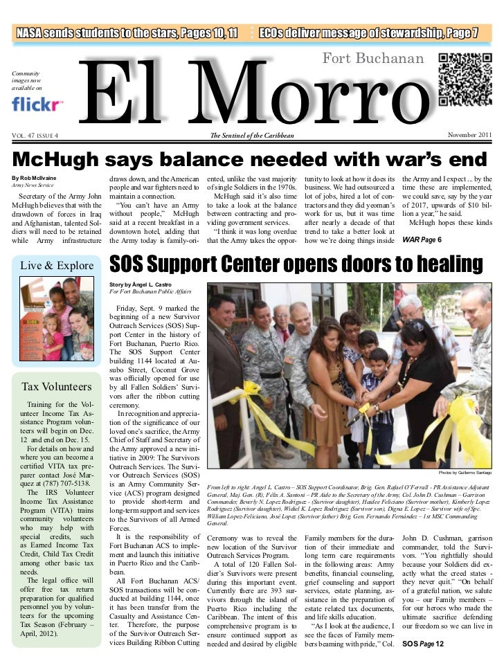 El Morro NASA sends students to the stars, Pages 10, 11                                          ECOs deliver message of s...