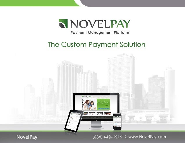 Novel pay   the custom payment solution