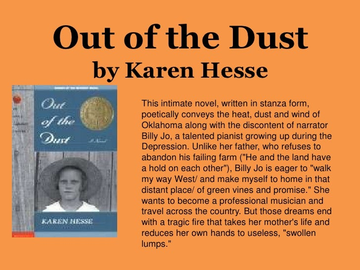 review of karen hesses out of the dust Pdf out of the dust directions: after reading karen hesses out of the dust download pdf 398 1-2out of the dust mixed review.