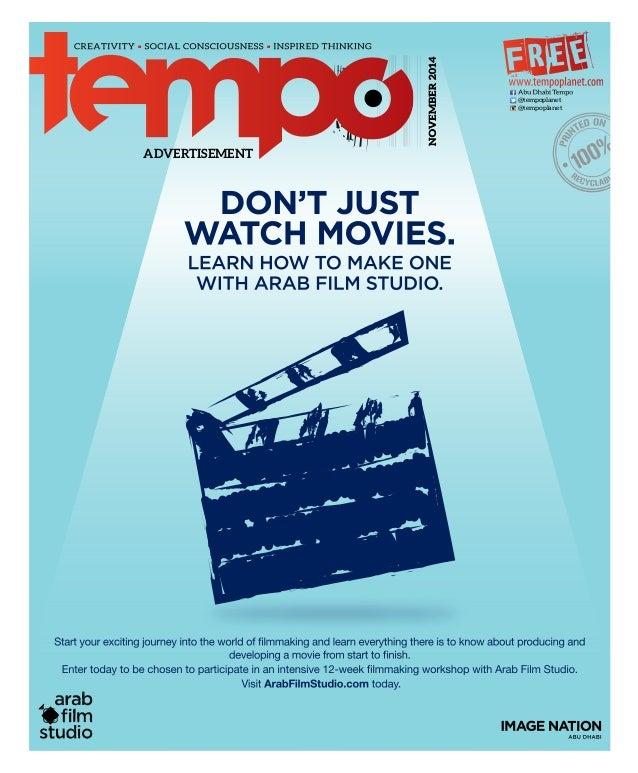 NOVEMBER2014 @tempoplanet @tempoplanet ADVERTISEMENT