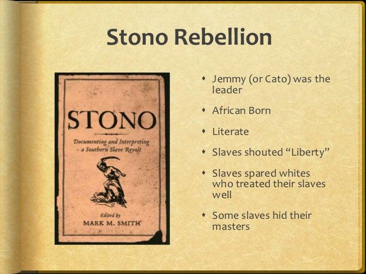 define stono rebellion