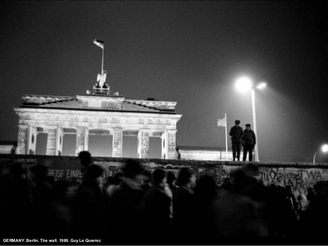 GERMANY. Berlin. The wall. 1989. Guy Le Querrec