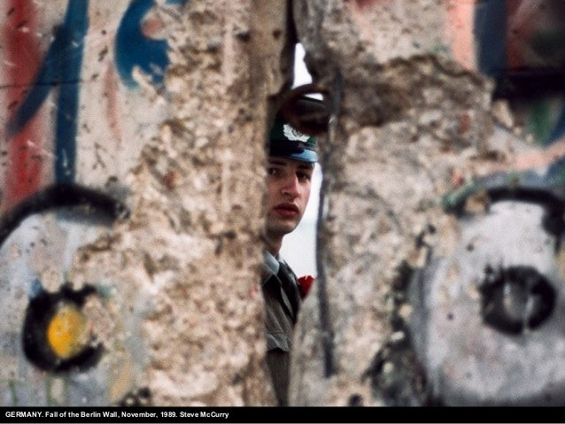 GERMANY. Fall of the Berlin Wall, November, 1989. Steve McCurry